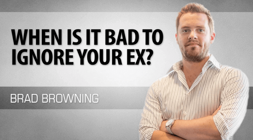 When Is It Bad To Ignore Your Ex- Exceptions To The 'No Contact' Rule