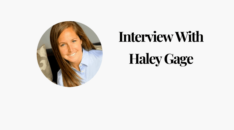 Interview With Haley Gage